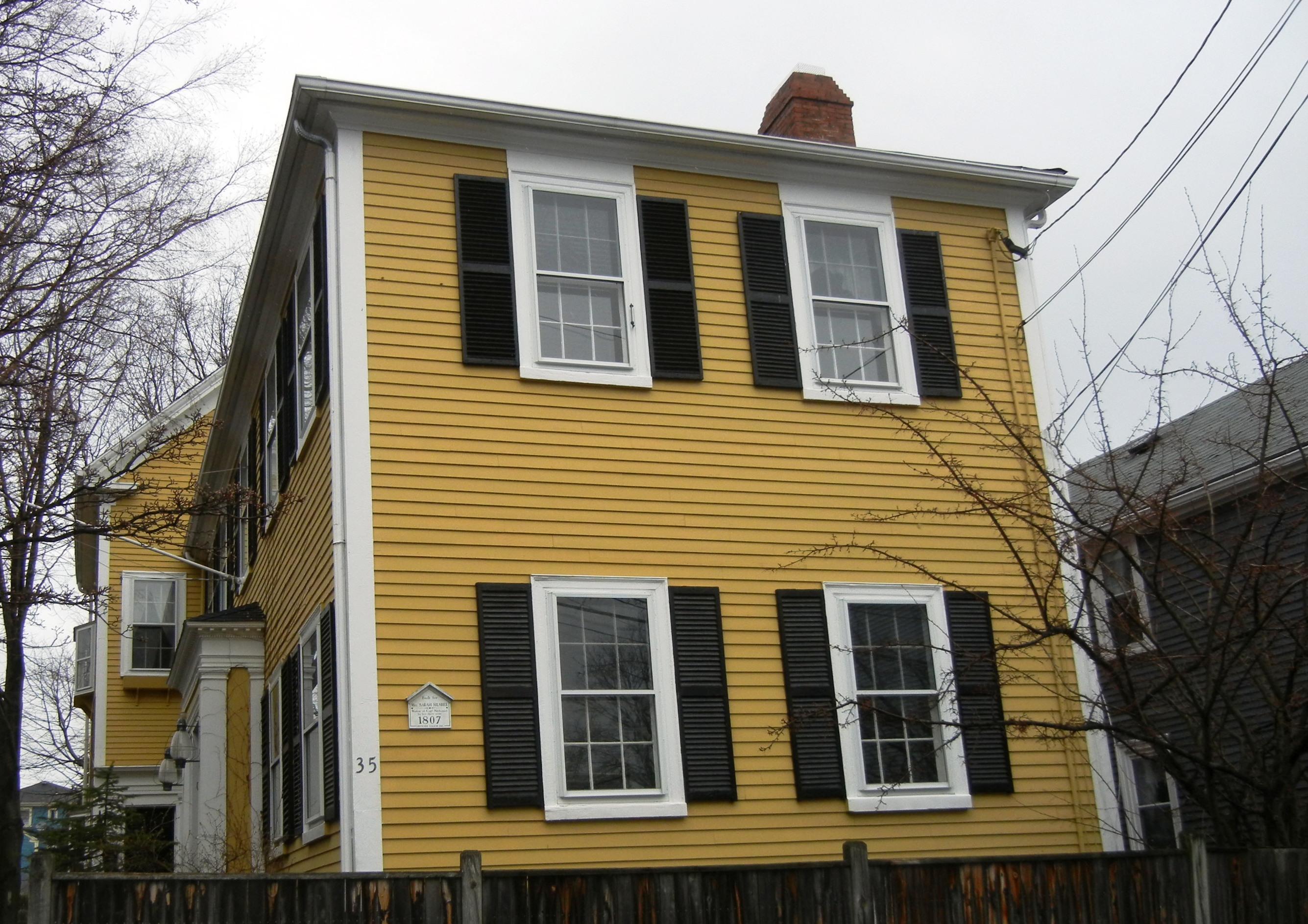 Brick-ended Houses   streetsofsalem
