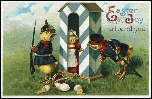 Next Up Are Two Vintage Swedish Cards Featuring The Traditional Easter Witches Or Hags Paskkarringar There Pre Christian Survivals Mixed In