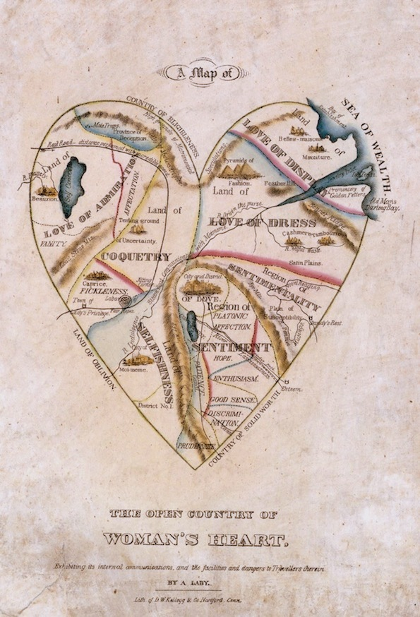 Maps of the Human Heart