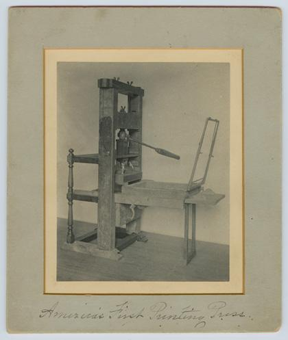 Bay Psalm Printing Press Stephen Daye