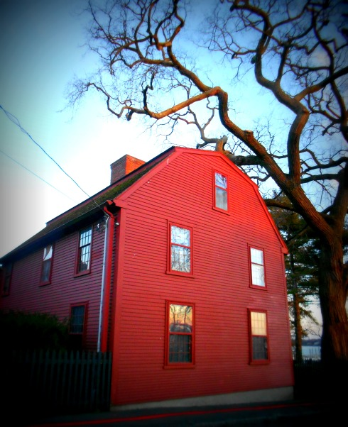 Red Hawthorne House rear