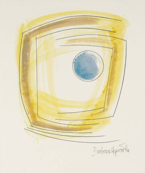 Winter Solstice 1971 by Dame Barbara Hepworth 1903-1975