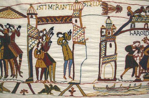 comet Bayeux