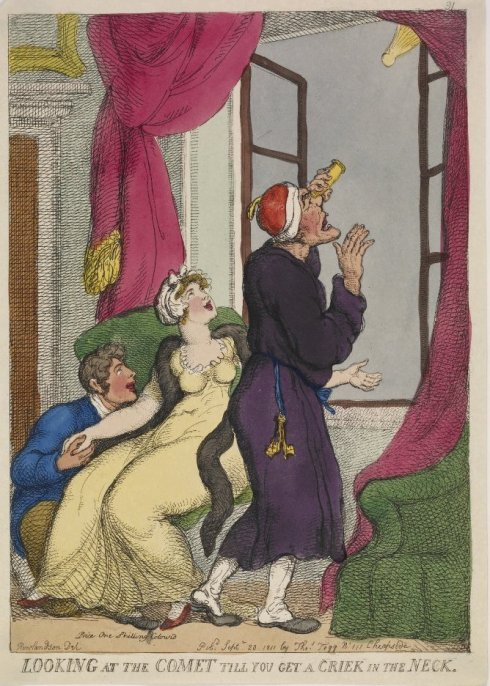 Comet of 1811 Thomas Rowlandson BM