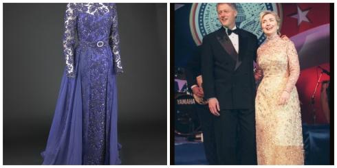 Inaugural Collage Clinton