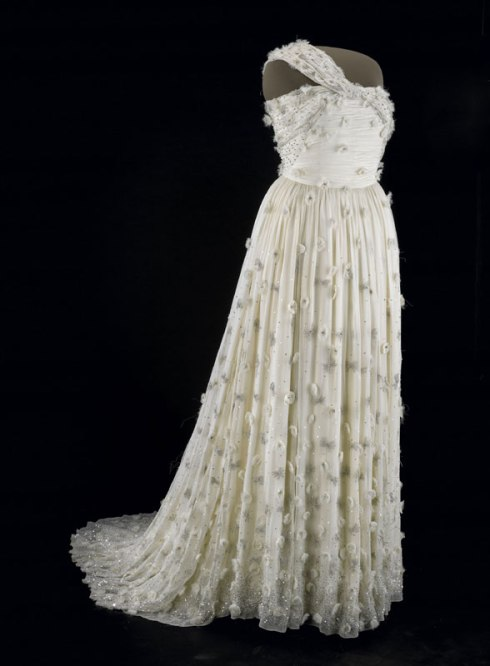 Inaugural gown of M Obama