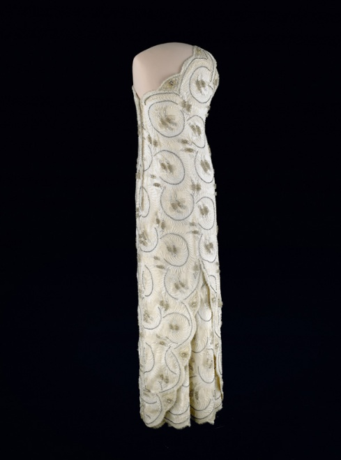 Inaugural gown of Mrs. Reagan