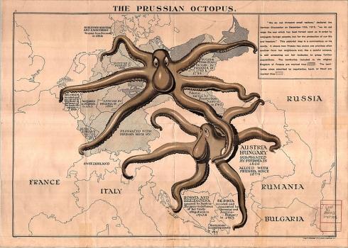 Octopus Map 1915 University of Toronto