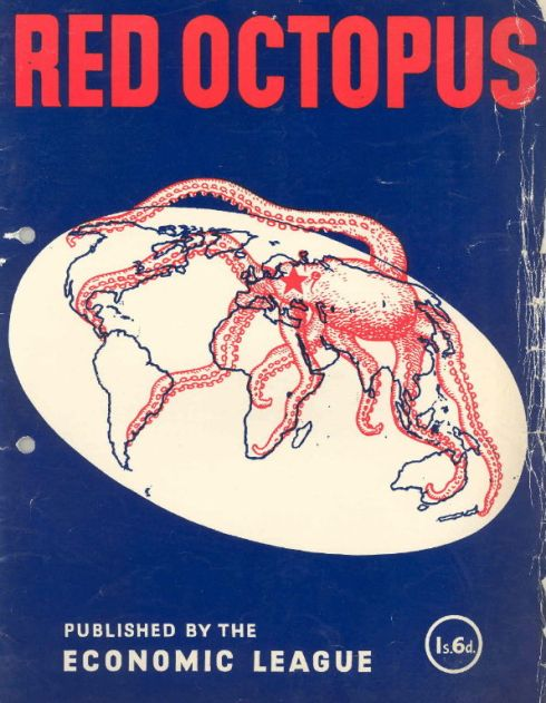Octopus Red 1950