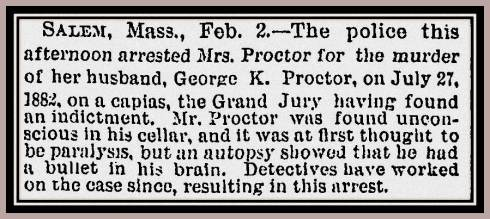 Proctor New York Times February 3 1885