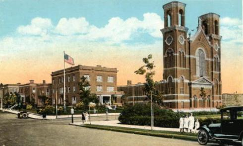 St. Joseph's Church and Parish House, Salem, Mass, MA