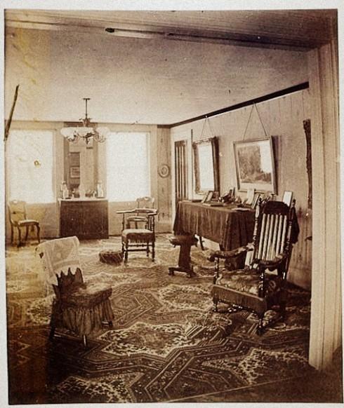 Vanished Cox House Interior