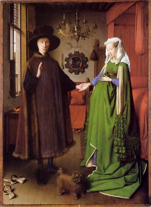 Arnolfini double portrait van Eyck 1434 National Gallery London