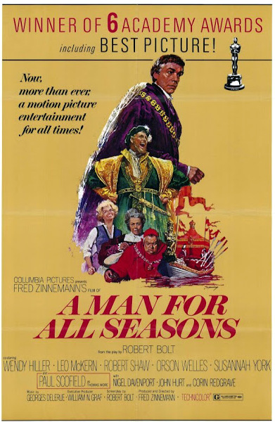 Man for all Seasons movie poster