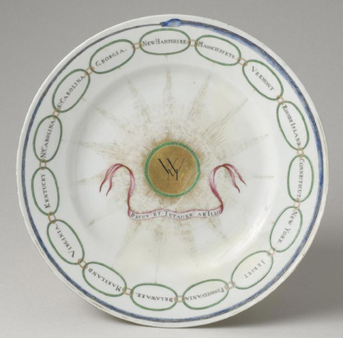 Presidential China Plate