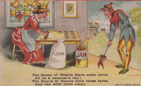 Queen of Hearts 1890 Cobbler Advertisement British Library