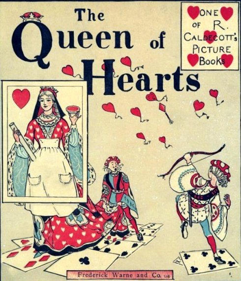 Queen of Hearts Caldecott Cover 1881