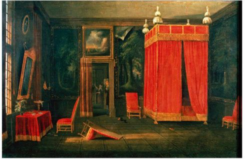Red Bedchamber 1700 V and A