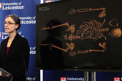 Richards Skeleton and Jo Appleby Bioarcheology
