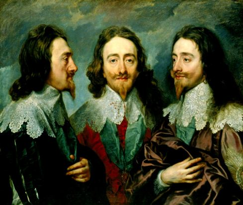 anthony-van-dyck-triple-portrait-of-king-charles-i