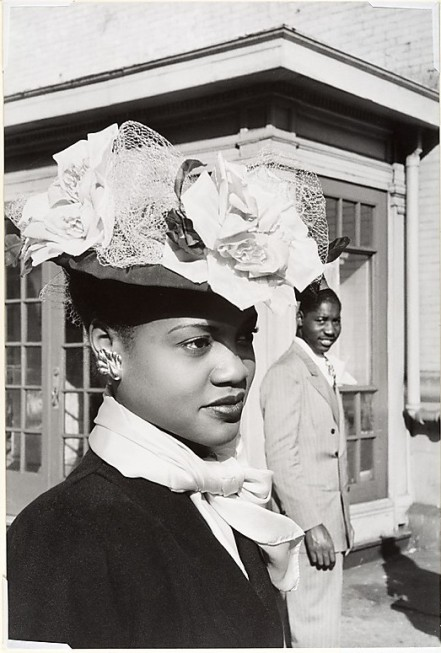Easter Sunday in Harlem Cartier-Bresson
