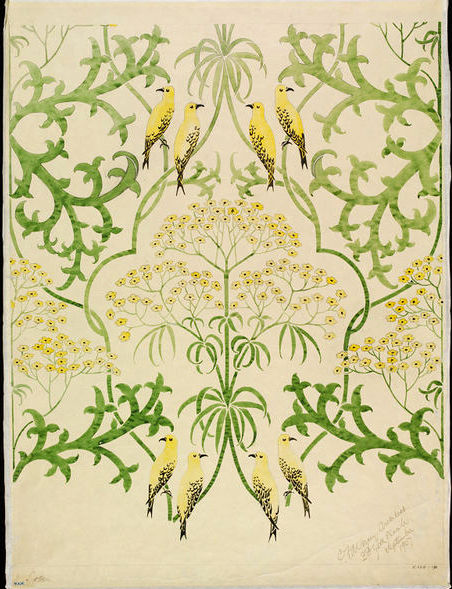 Fool's Parsely Voysey 1907 V and A