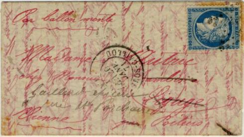 Letter Smithsonian