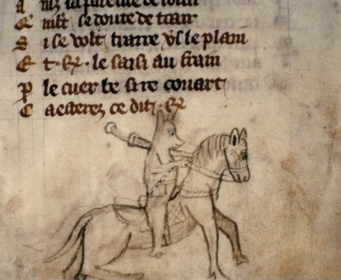 Reynard the Fox Bod MS Douce 360