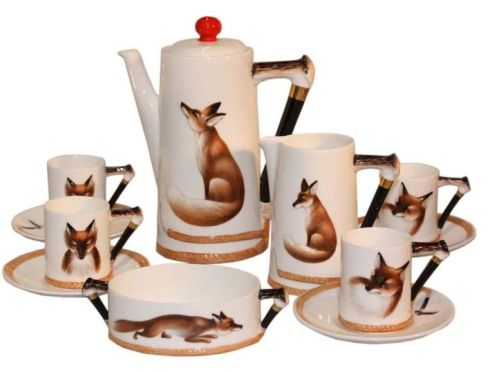 Reynard the Fox Coffee Service