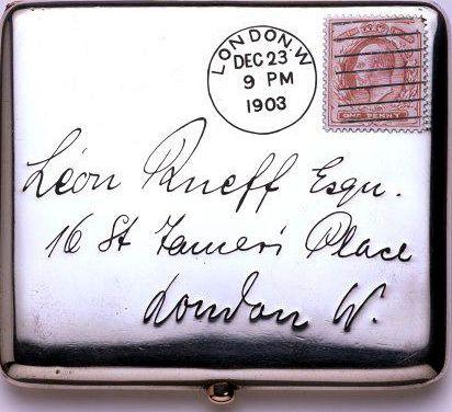 Silver Cigarette Case Albert Barker Ltd London