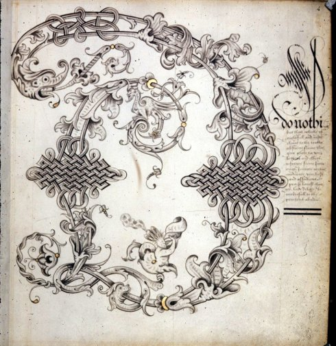 Alphabet Book BL Harley MS 16thc