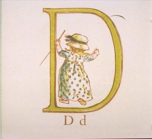 Alphabet D Greenaway V and A