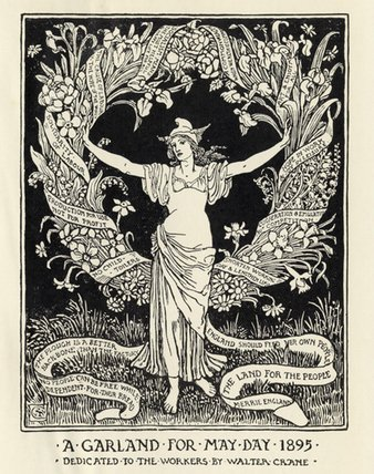 May Day Garland 1895