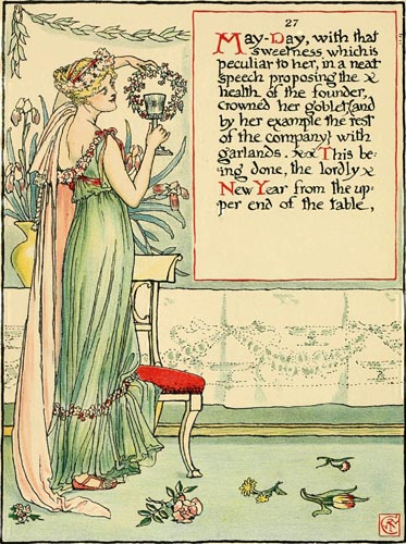 May Day Masque of Days Walter Crane