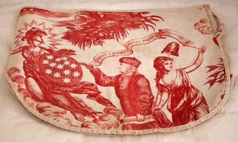 Patriotic Pattern Apotheosis Bed Valence Dumbarton
