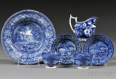 Patriotic Patterns  Clews at Skinner Auctions