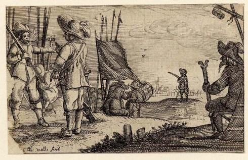Pikemen Nealle BM 1657-8