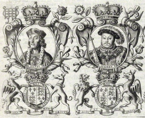 NPG D34139; King Henry VII; King Henry VIII; King Edward VI after Unknown artist