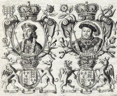 NPG D34139; King Henry VII; King Henry VIII; King Edward VI after Unknown artist