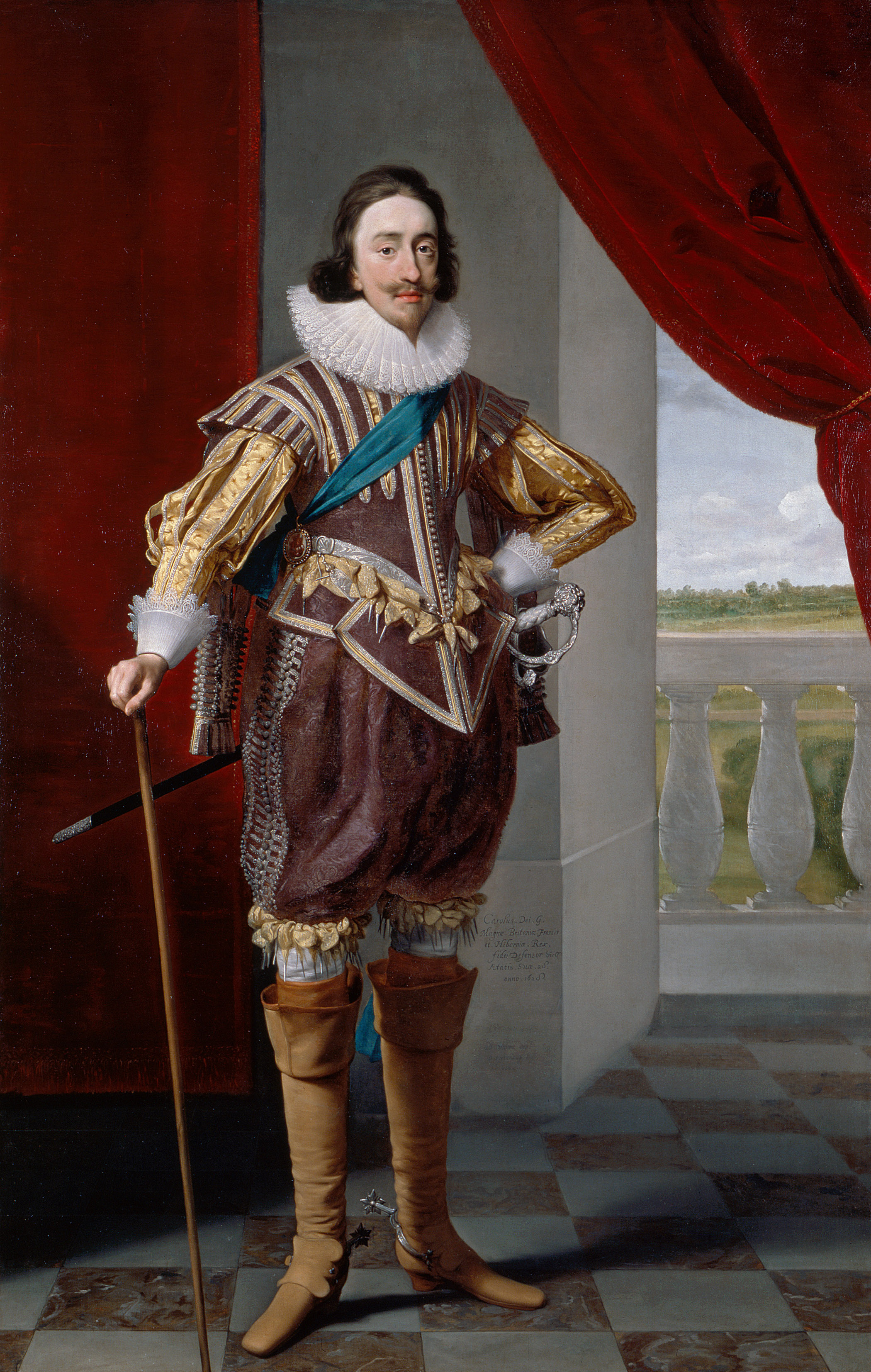 a comparison of the portrait of louis xiv and the red man Although this portrait presents a credible, if idealized, likeness of the sixty-three-year-old louis xiv, similitude was not its chief purpose above all, rigaud's image of the sun king was intended as an expression of absolute power achieved through the glorification of the monarchy.