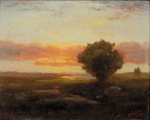 Hodgdon On the Marsh 1861