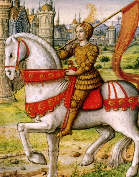 Joan of Arc 16th c. 1505 ms