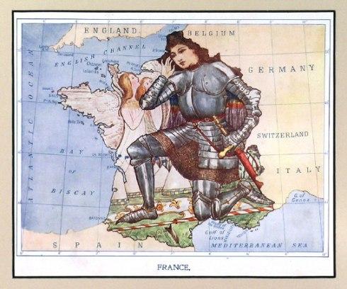 Joan of Arc France Lillian Tennant Lancaster c. 1910