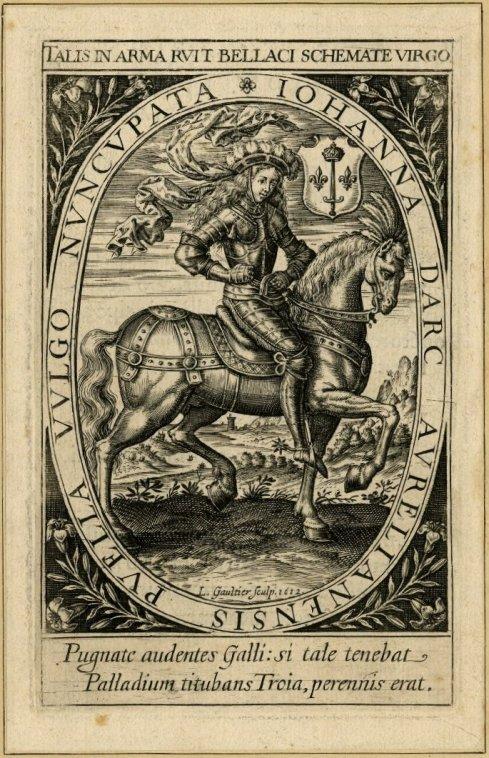 Joan of Arc Gaultier 1612 BM