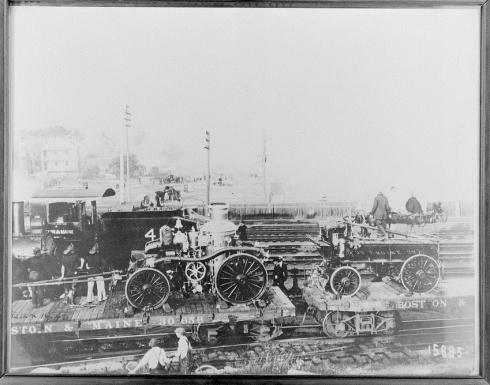 Salem Fire Old Steamer