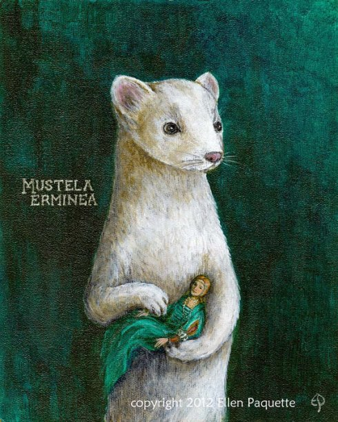 Ermine with a Lady