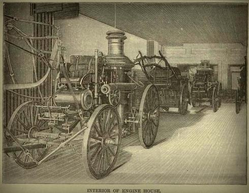 Firehouse Interior 1887