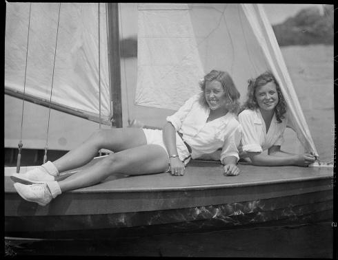 Girls of Summer Jones Marblehead 1940s