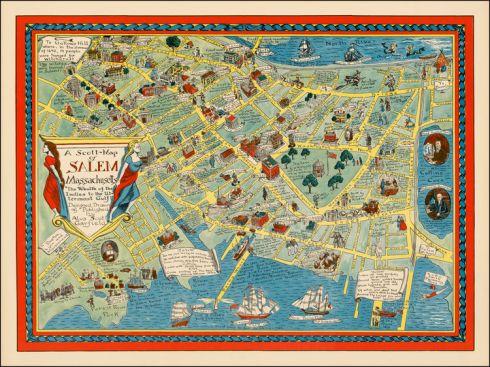 Literary Maps Scott