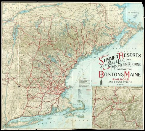 Mapping Vacation 1914